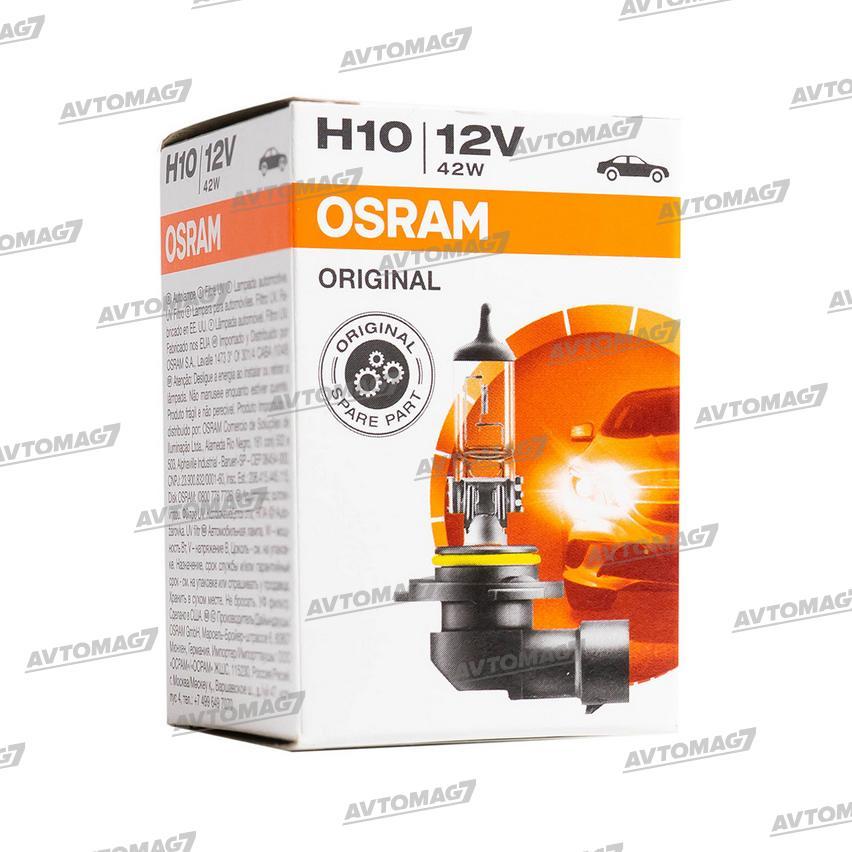 Лампа галогеновая H10 12V-42W 3200K 850LM Osram Original Line (2)