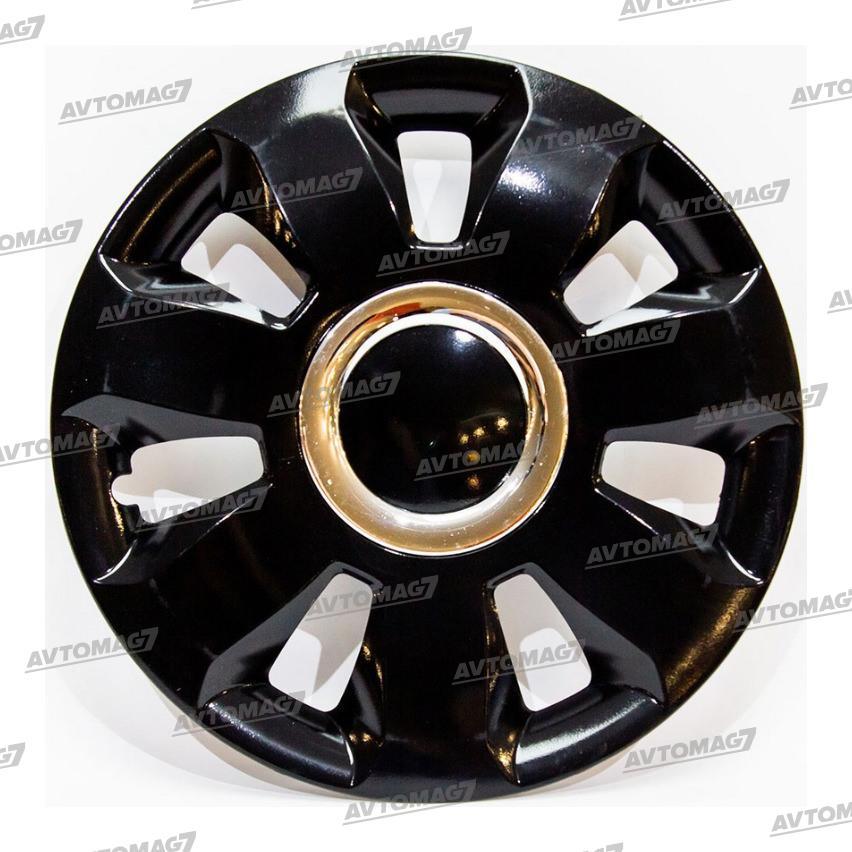 Колпаки на Колеса R16 Арес Ринг Черный