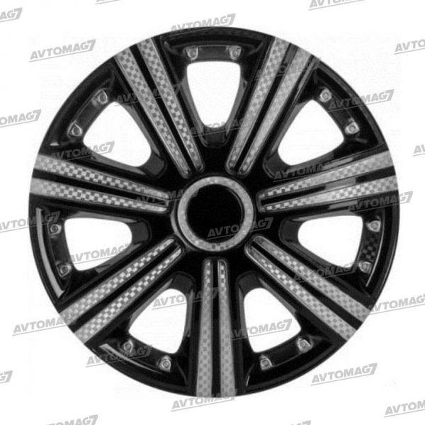 Колпаки на Колеса R13 DTM Super Black Серебристо-черный