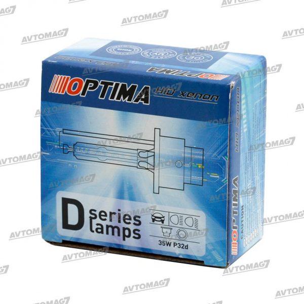 Лампа ксеноновая D2S 85V-35W 6000k Optima Classic