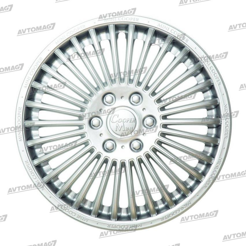 Колпаки на Колеса R16 Мини-купер Серебро