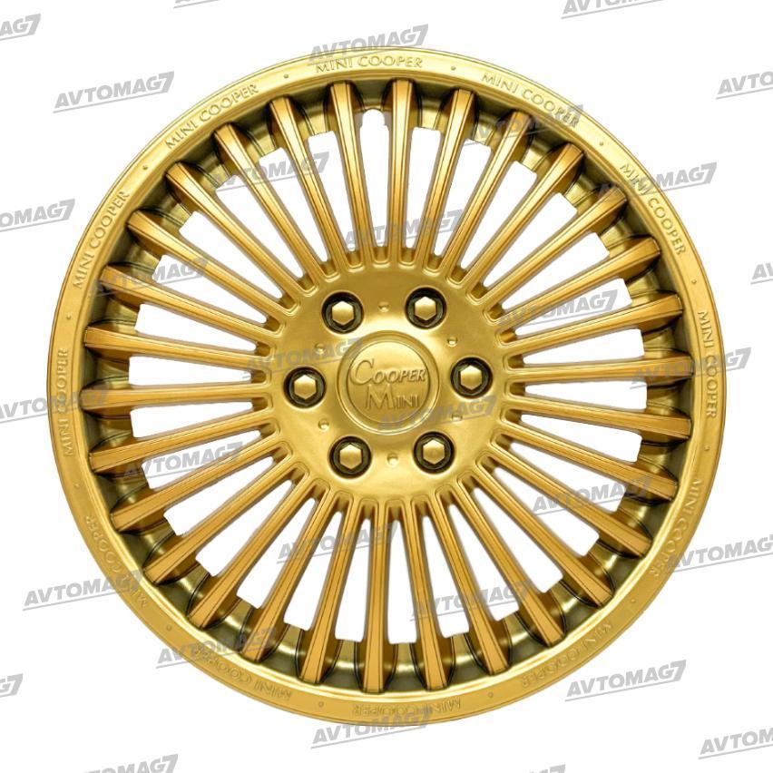 Колпаки на Колеса R13 Мини-купер Золотистые