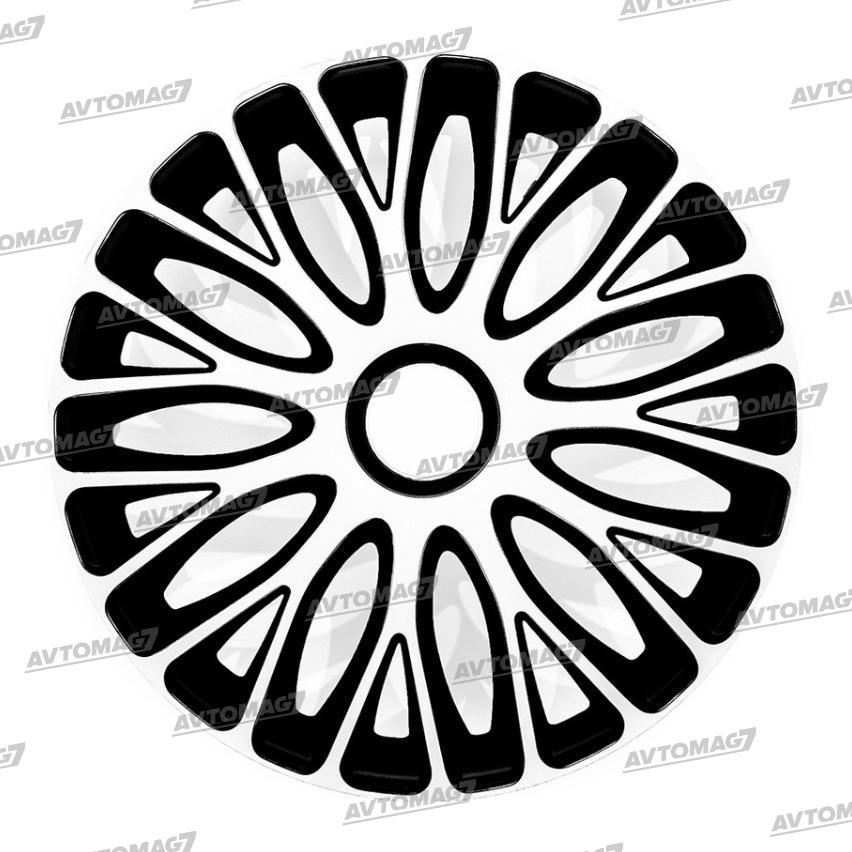 Колпаки на Колеса R14 Муджелло Черно-белые