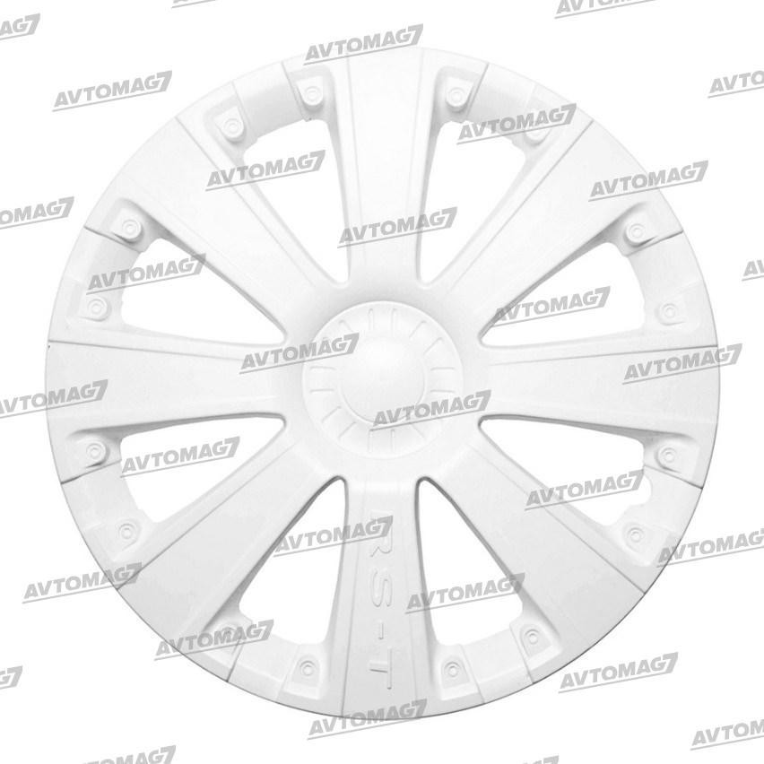Колпаки на Колеса R13 RS-T Белые