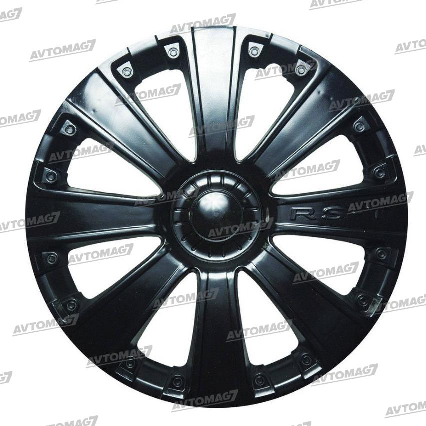 Колпаки на Колеса R13 RS-T Черные