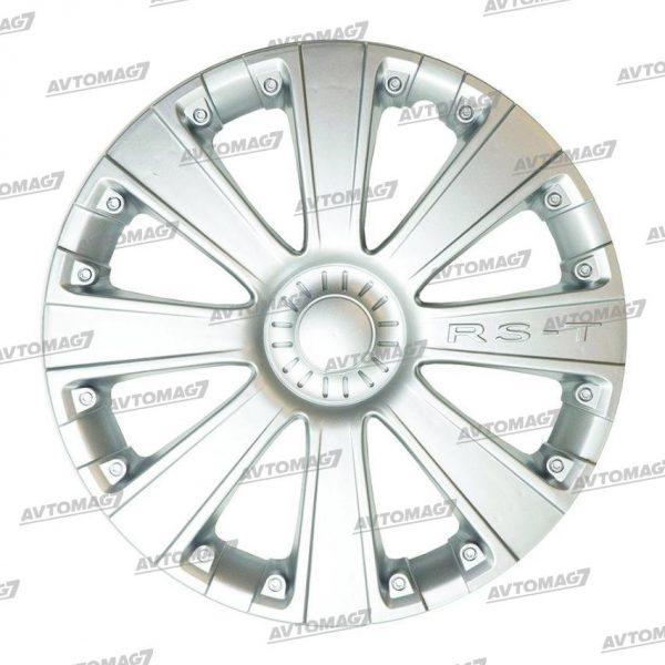 Колпаки на Колеса R13 RS-T Серебро