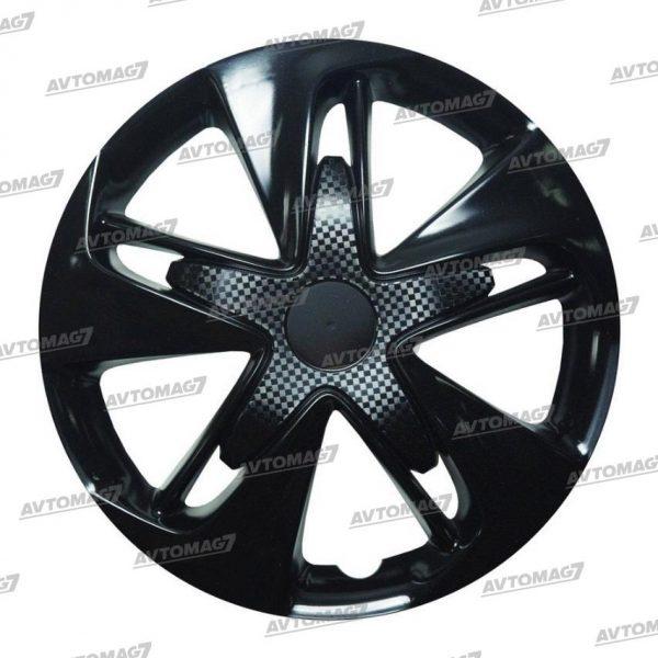 Колпаки на Колеса R14 Супер Астра Черные карбон