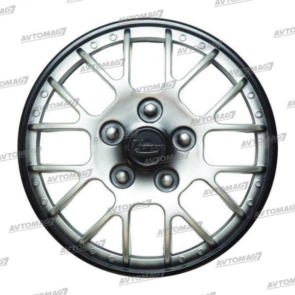 Колпаки на Колеса R12 Виктори Серебристо-черные